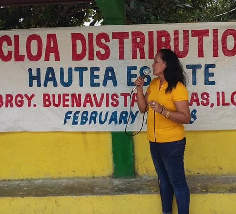 My name is Edna Aguilar. I am a woman farmer.