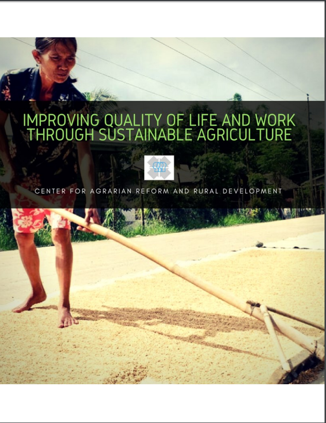 Improving quality of life and work through sustainable agriculture
